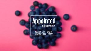 Appointed