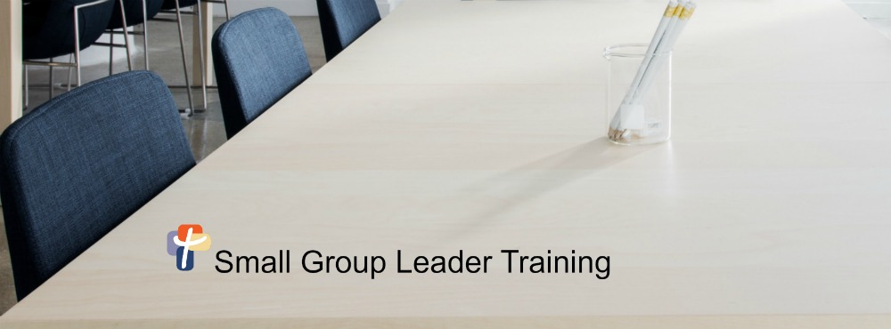Small Group Leader Training - Header