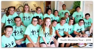 Youth Missions Tour - 2016