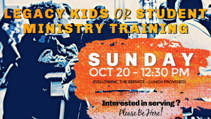 Kids_Youth Ministry Training