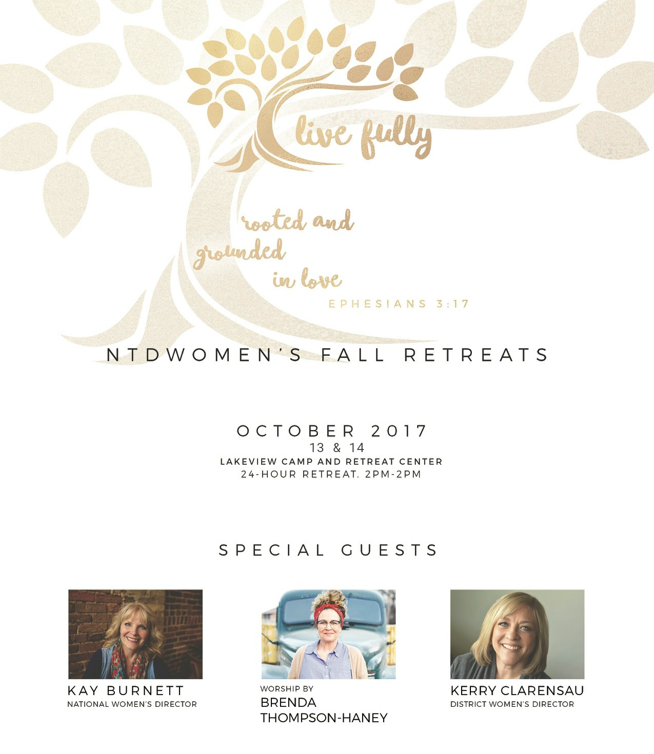 Women's Retreat - Web Poster
